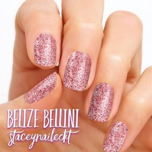 Other - Valentine's Day glitter Nail Polish. ZERO DRY TIME